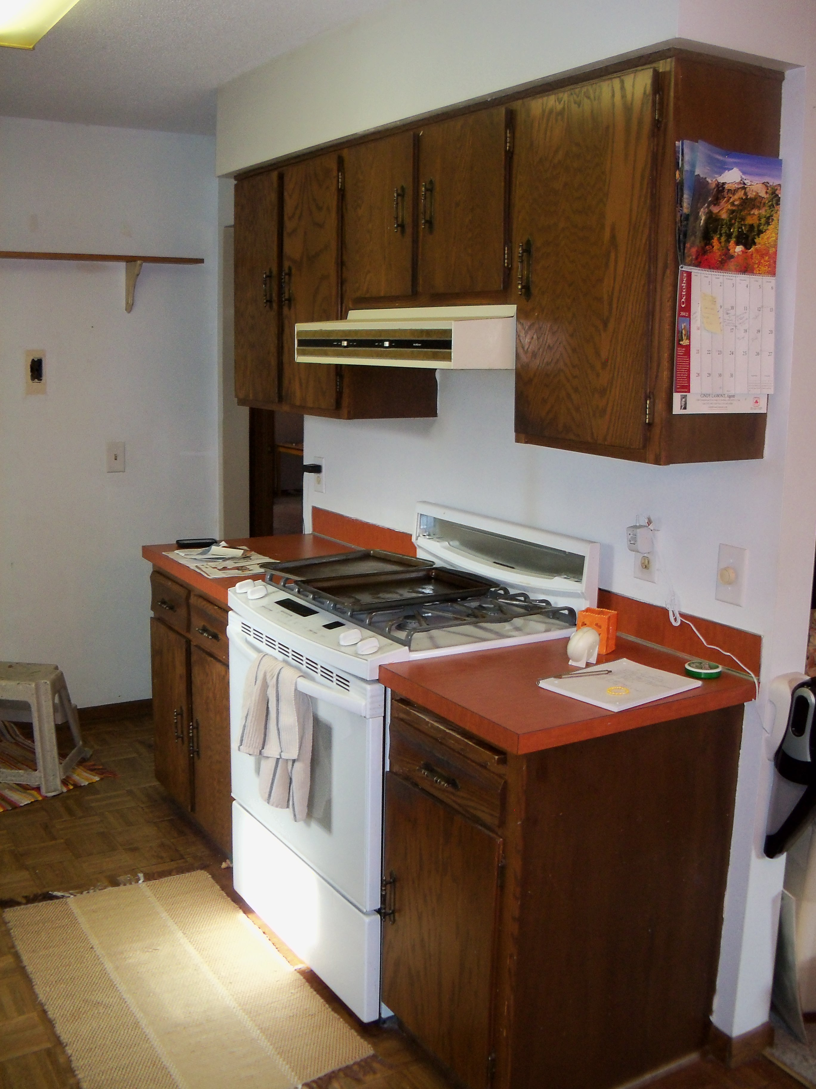 Kitchen Upgrade by just repainting cabinets Country Style Accents